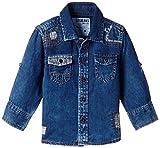 Gini & Jony Baby Boys' Shirt (111010560684 5100_Denimx Wash_9-12 months)