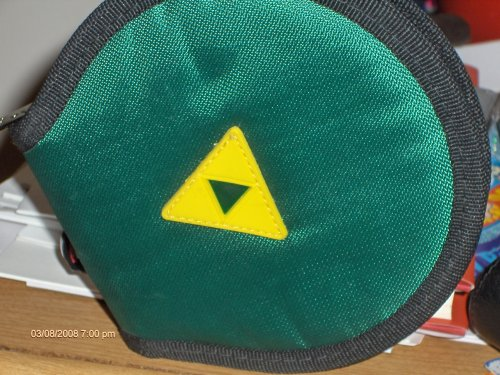 Legend of Zelda Wii Game Wallet