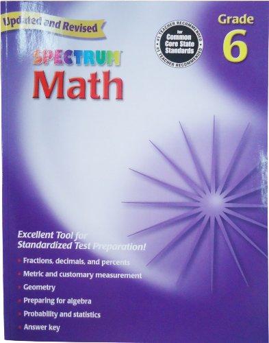 Обучающая игра Spectrum Math, Grade 6