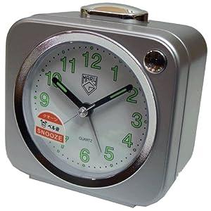 Despertador Mary-G A-602-L-MT Campana Luz Repeticion C. Plata por Mary-G