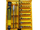 JMT 45 in 1 Precision Electron Torx Screwdriver Set,hand Screw Driver Tools Set Kit for Mobilephone DVD Tv Computer