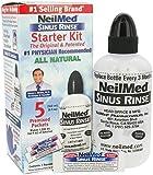 NeilMed Sinus Rinse Starter Kit with 10 Sachets