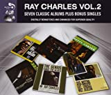 7 Classic Albums VOL 2 Plus Bonus Singles by Ray Charles [Audio CD] Ray Charles Ray Charles