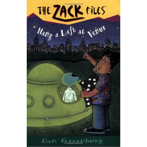 Zack-Files-15-Hang-a-Left-at-Venus-Greenburg-Dan-Author-Davis-Jack-E-Ill
