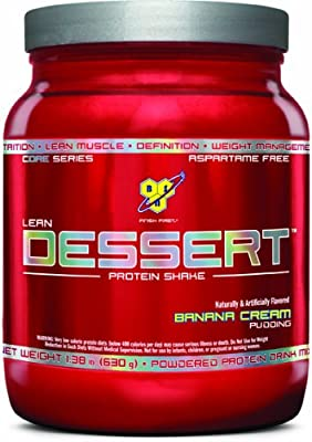 Bsn Lean Dessert Protein Banana Cream Pudding 138 Pound from Bsn