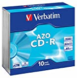 Verbatim CD-R 80min (48x) 10 Pack Slim Case