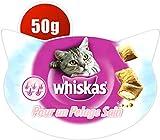 Whiskas Gesundes Fell Katzensnacks, 8 Packungen (8 x 50 g) -