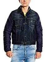 MELTIN'POT Chaqueta Jenso (Denim / Azul)