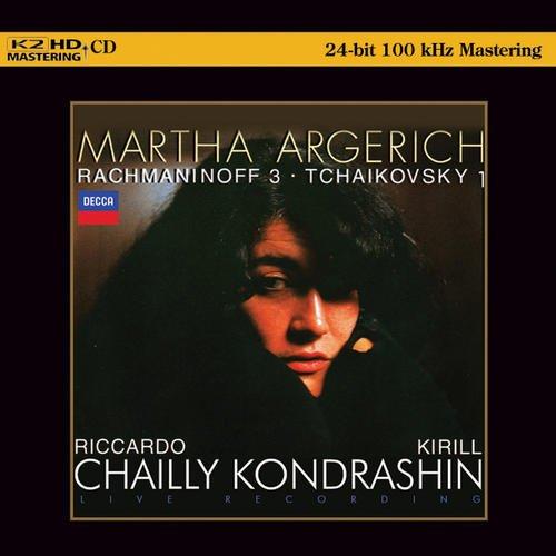 Martha Argerich: Rachmaninoff & Tchaikovsky Concertos (K2HD Master)