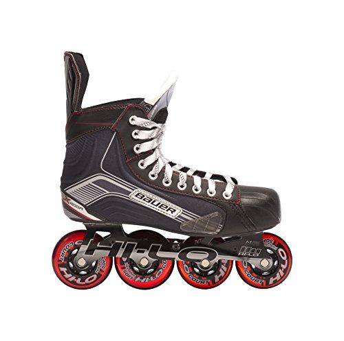 Bauer-1047265-Junior-Vapor-X500R-Roller-Hockey-Skate-Black-Size-55