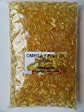 The Vitamin - Omega 3 Fischöl 1000mg (1000 Kapseln in Beutel)