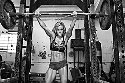 Bodybuilding Motivational Art Silk Wall Poster 24x36 inch 08