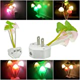 1Pc Apogee Night Light LED Lamp Mushroom Romantic Gift Multi-Color Changing with US Plug