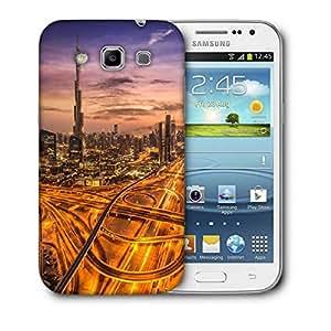 Snoogg Dubai Famous Road Printed Protective Phone Back Case Cover For Samsung Galaxy Samsung Galaxy Win I8550 / S IIIIII