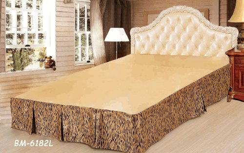 Tache Panther Bed Skirt-Single front-703711