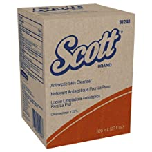 Kimberly-Clark Scott 91248 Baby Powder Fragrance Antiseptic Skin Cleanser, 800mL, White (Case of 12)