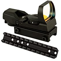 Low Profile Scope Mount Rail And 4 Reticle Pattern Tactical Reflex Sight For Marlin Camp 9 40 45 Carbines 1894 1895 336 Rifles