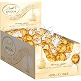 Lindt Lindor Truffles - White Chocolate - 60 ct