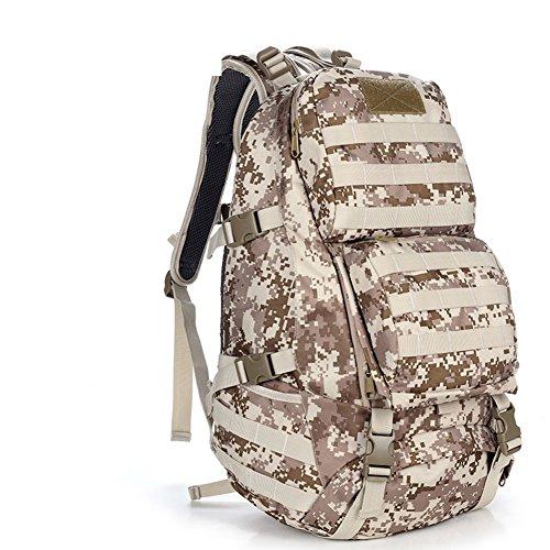 épaule Camouflage sac / ventilateurs militaires tactique / sac / sac à dos en plein air / sac d'alpinisme sac-2 50L