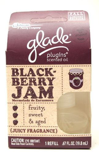 Glade Plugins Scented Oil Refills, Blackberry Jam, 1 Count By Glade (046500737404)