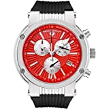 Swiss Legend Men&#039;s 10006-05-SB Legato Cirque Collection Chronograph Rubber Watch