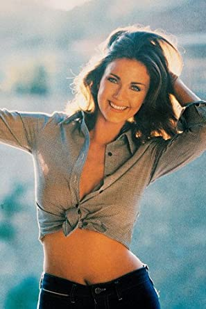 Lynda Carter Bare Midriff Sexy Pose Color 24X36 Poster at