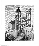 M. C. Escher (Waterfall) Art Poster Print - 22x26 Art Poster Print Art Poster Print by M. C. Escher, 22x26 Art Poster Print by M. C. Escher, 22x26