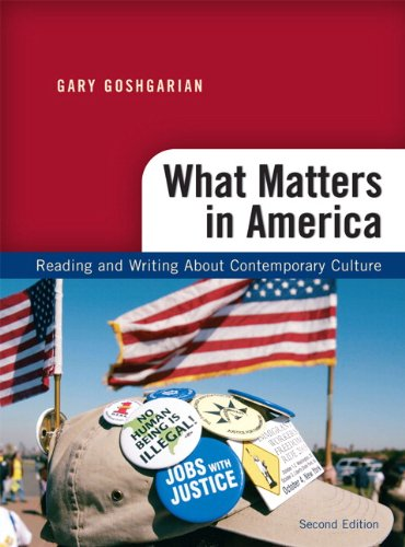 What Matters in America: Reading and Writing About...
