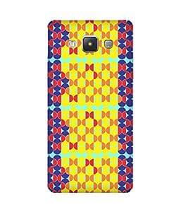 Stripes And Elephant Print-89 Samsung Galaxy A5 Case
