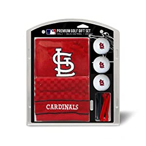 MLB St. Louis Cardinals Embroidered Towel Gift Set, Navy by Team Golf