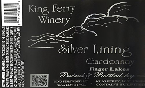 Nv King Ferry Silver Lining Chardonnay Finger Lakes 750Ml