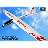 2.4GHz 6-Ch Radio Remote Control Phoenix2000 EPO 2m Air Glider Rc Airplane Ready to Fly by LanYu