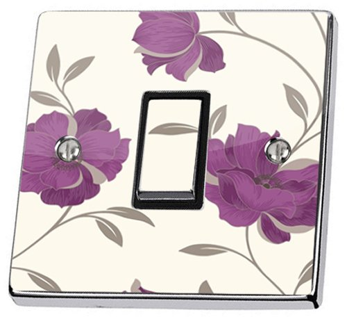 purple-floral-light-switch-sticker-vinyl-cover-wallpaper-arthouse-opera-charleston