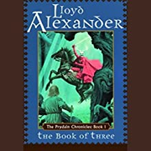 The Book of Three: The Prydain Chronicles, Book 1 Audiobook by Lloyd Alexander Narrated by James Langton