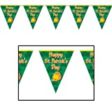 Happy St Patricks Day Pennant Banner Party Accessory (1 count) (1/Pkg)