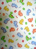 SheetWorld Fitted Sheet (BABYBJRN Travel Crib Light) - Baby Dino - Made In USA