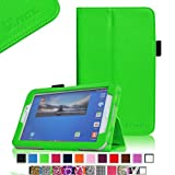 Fintie Folio Classic Leather Case for Samsung Galaxy Tab 3 7.0 inch Tablet - Green