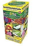 Garden Innovations HB1000 10-Inch by 10-Foot Roll Out Flowers, Butterfly Hummingbird Garden