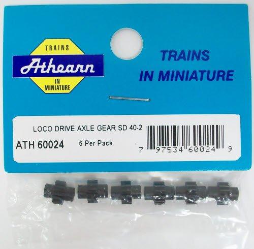 Athearn 60024 HO Drive Axle Gear, SD40-2 (6) - 1