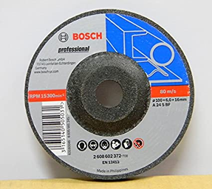 2 608 602 372 4 Inch Grinding Disc Set (10 Pc)
