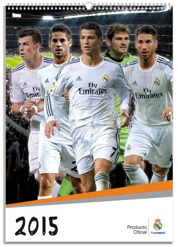 Sale alerts for Browntrout Official Real Madrid 2015 Calendar - Covvet