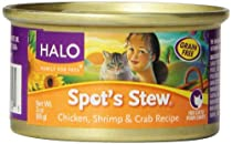 Spot's Stew for Cats, Chicken Shrimp and Crab, 3-Ounce, 12-Can