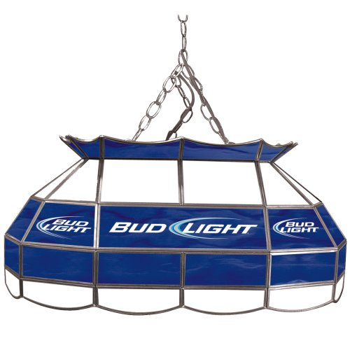 "Bud Light Tiffany Gameroom Lamp, 28"" Sporting Goods"