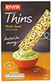 Ryvita Multi Seed Thins 125 g (Pack of 6)
