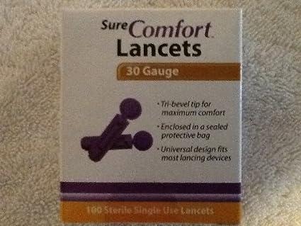 Easy Comfort Lancets Sure Comfort Lancets
