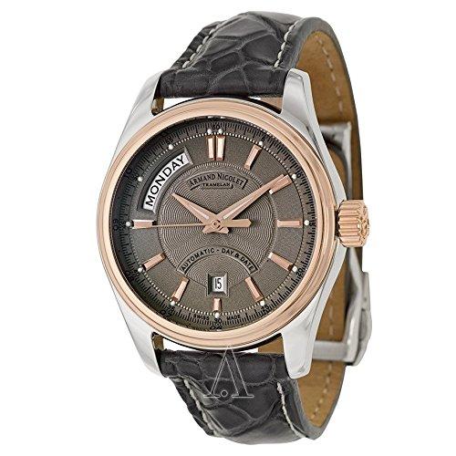 Armand Nicolet M02 Men's Automatic Watch 8641A-2-GR-P974GR2