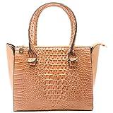 Aadaana Crinkled Women's Beige Hand-held Bag