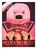 Ghostbusters Angry Stay Puft Art Poster Print by Matt Ferguson (MSP 0012)