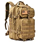Military Tactical Backpack Small 3 Day Assault Pack Army Molle Bug Out Bag Backpacks Rucksack for Outdoor Sport Travel Hiking Camping Hunting Daypack 35L