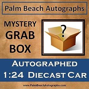 MYSTERY GRAB BOX - Autographed Nascar 1:24 Diecast Car by PalmBeachAutographs.com